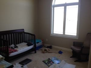 Baby's Room Before