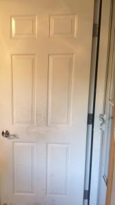 Interior Door Before